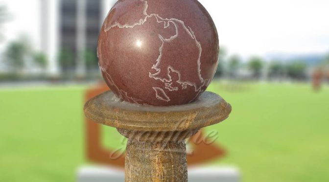 Modern Garden Stone Granite Rolling Ball Fountain Prices by Suppliers Offer