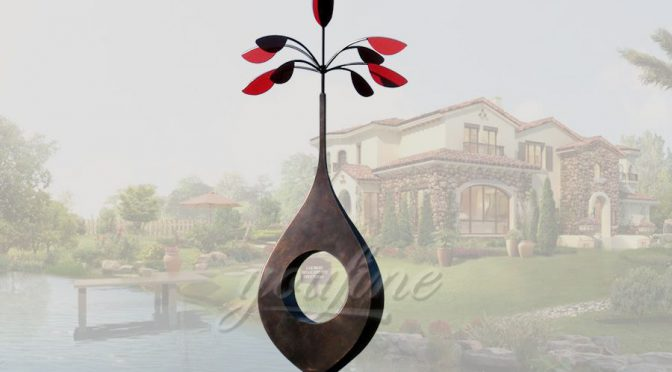 Garden art tree stainless steel sculpture