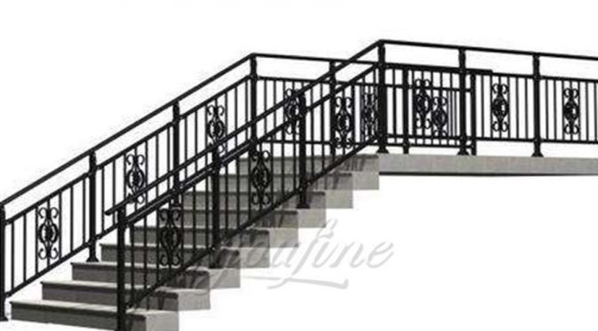 Indoor Wrought Iron Spiral Staircase Design