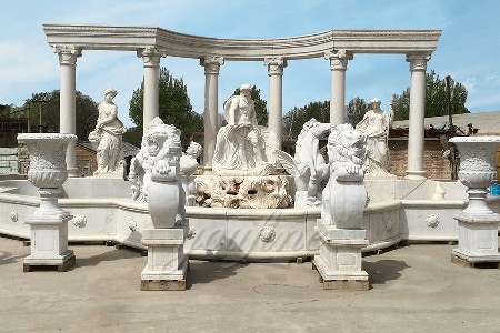 Large Manufacturer Supply Famous Marble Trevi Fountain