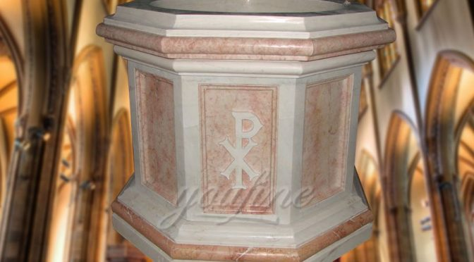 Marble Baptism Font for Church